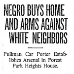 Negro buys home
