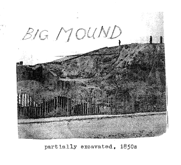 mounds, 1850s